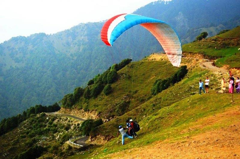 Paragliding in Bir-Billing Tour