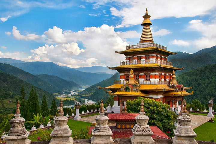 Bhutan 6 nights and 7 days Tour