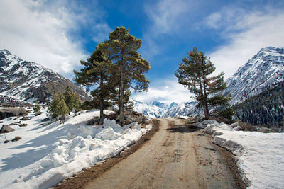 Shimla to Manali via Kinnaur-Sangla-Chitkul and Lahaul-Spiti Tour