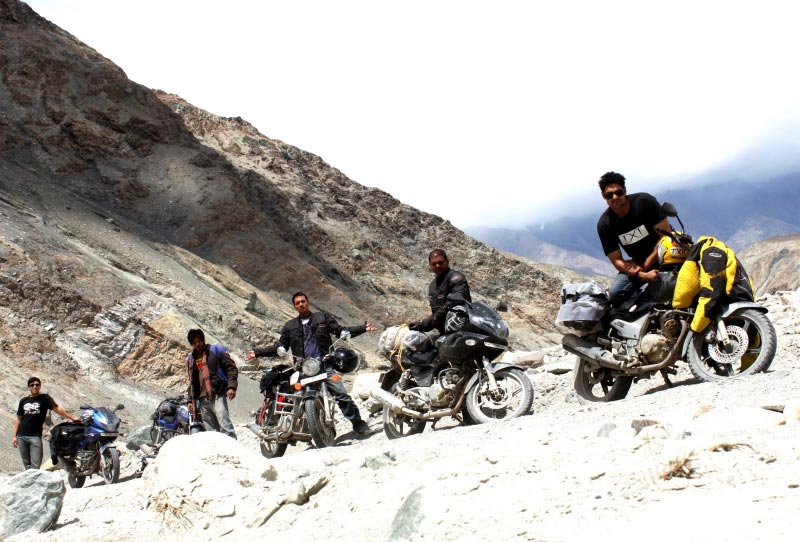Ex Leh Bike Expedition Tour