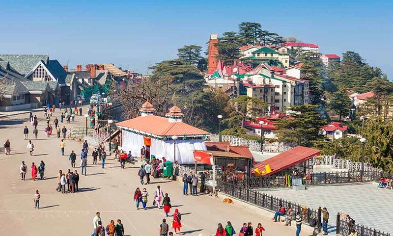 Shimla Manali Dharamshala Dalhousie 8N/9D Package From Delhi