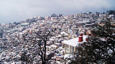 Shimla Manali Dharamshala Dalhousie Chandigarh 8N/9D package from Delhi
