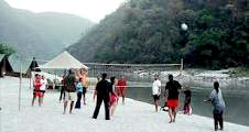 Rishikesh ( beach Camp )
