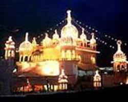 Night View Anadpur Sahib