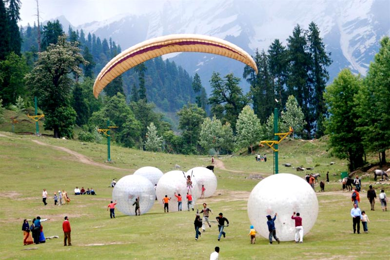 Jewels of Himachal : Honeymoon Special Tour