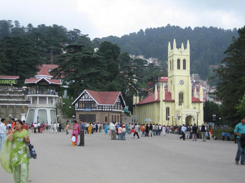 Chandigarh Chail Shimla Package