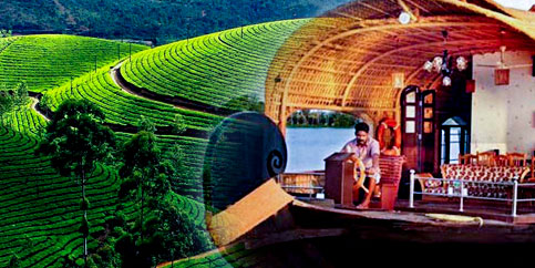 Kerala 4 Nights (Munnar - Thekkady - Alleppey(Houseboat)) Tour