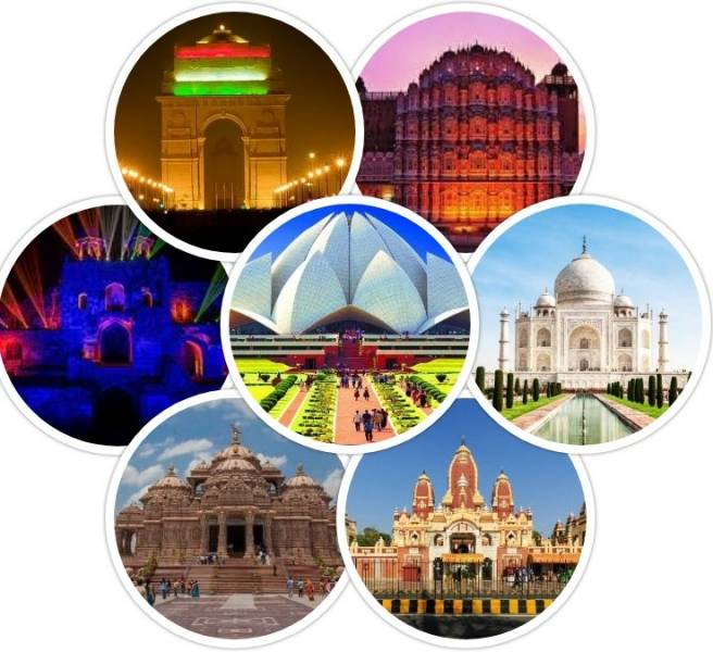 4 NIGHTS 5 DAY  DELHI – AGRA – JAIPUR (RAJASTHAN) – GOLDEN TRIANGLE TOUR PACKAGE BY FLIGHT