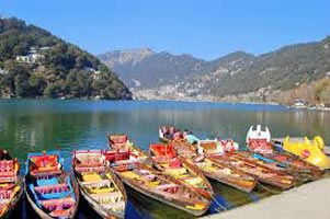 Jim Corbett with Nainital