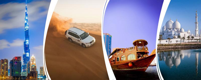 Spectacular Dubai Sightseeing Tour Packages