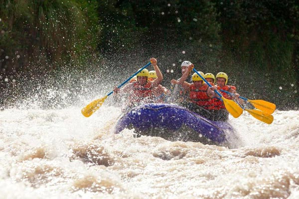 1 Night stay Jungle Camp Rafting and Bungee Jumping