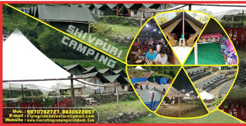 1 Night Stay Camp Shivpuri Tour Package