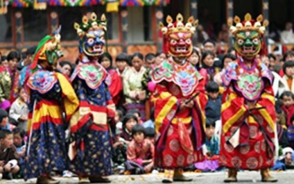 Thimphu Tshechu Festival 2016 Tour