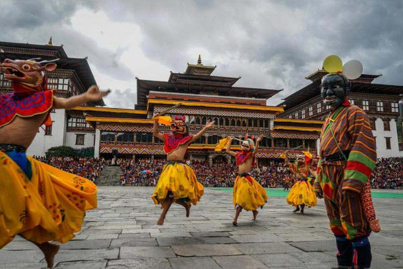 A Festival Tour In The Kingdom Of Bhutan 5 Days/4 Nights Tour