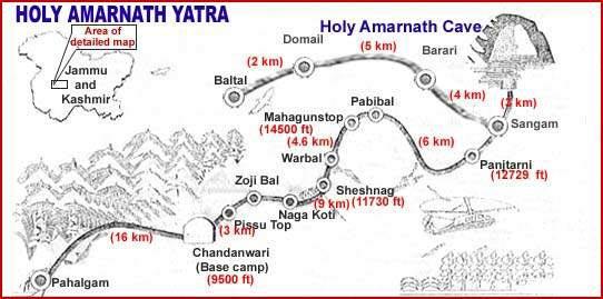 Shri Amarnathji Yatra Tour