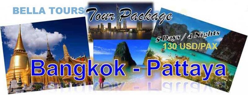 2N Bangkok & 2N Pattaya Tour
