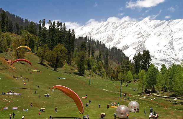 Jammu Paragliding Tour