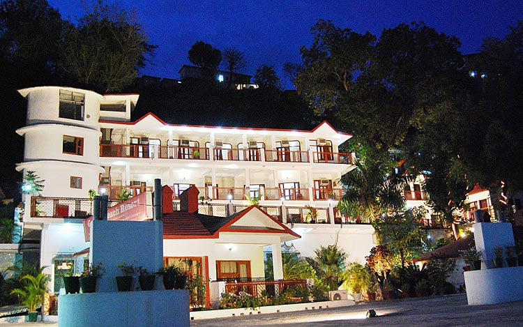 Serene Rishikesh tour with stay in Ganga beach resort.