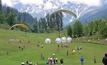 Weekend Group Paragliding & Camping Tour