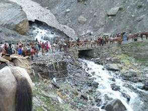 Amarnath Yatra By Helicopter - Ex Neelgrath {Baltal}