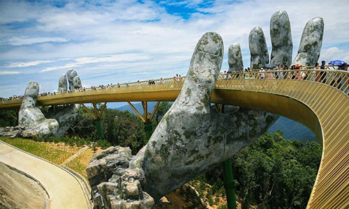 Golden Bridge Ba Na Hills - Da Nang - Hoi An - My Son Tour