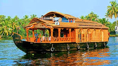 Kerala Boathouse Tour