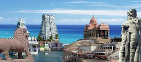 Tamilnadu - Kanyakumari & Rameshwaram Tour