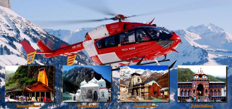 Ek Dham Yatra Package by Helicopter