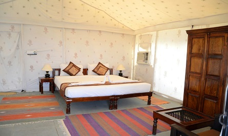 Royal Suite Swish Tent A/C Night Stay In Royal Suite Swish Tent A/C Package