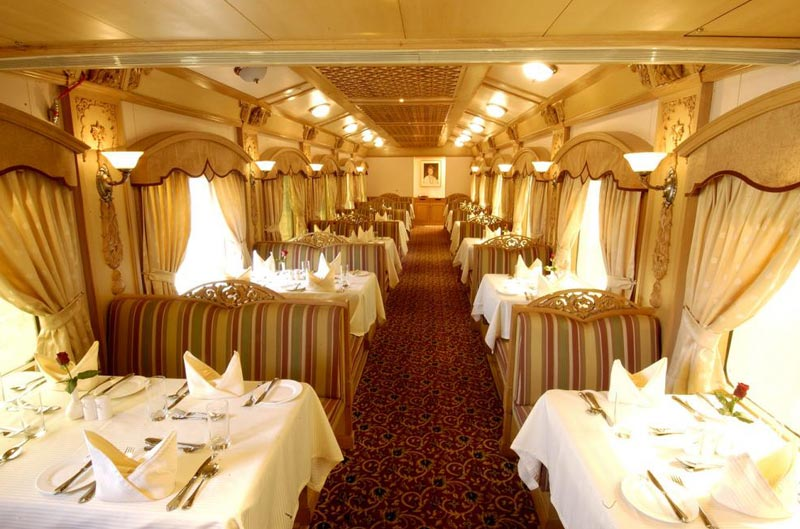 Indian Odyssey Journey  The Deccan Odyssey Luxury Train Tour