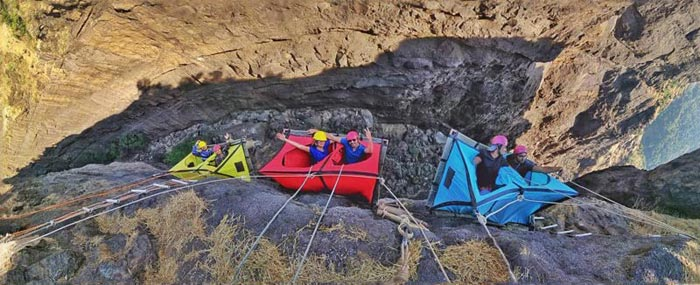 Hanging Tent Camp in Maharashtra Tour