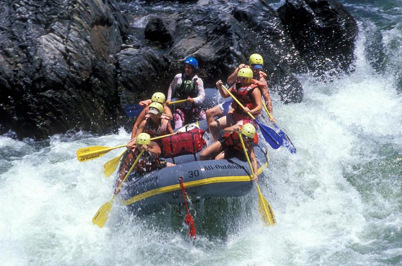 Shivpuri to Rishikesh River Rafting Tour