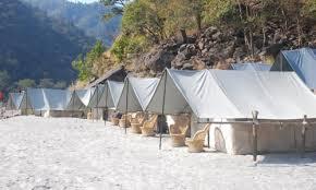 Riverside Camping Shivpuri Rishikesh Tour