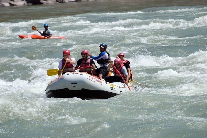 Rishikesh Camping & Rafting Tour
