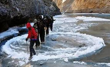 Chadar Trek (Frozen River Trek Package) 2017