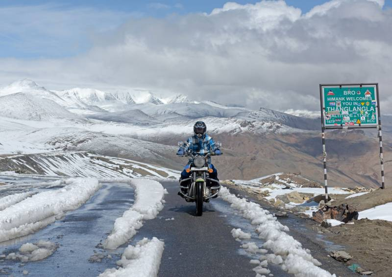 Manali –Leh – Manali Motorbike Expedition Tour