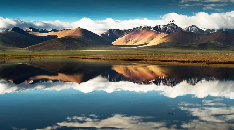 Leh with Pangong Lake & Nubra Valley Motor Bike Safari Tour