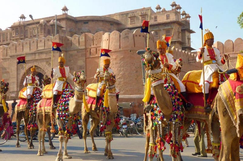 Jaipur (2) - Mandawa (1) - Bikaner (1) - Jodhpur (2) – 6 Nights / 7 Days Tour