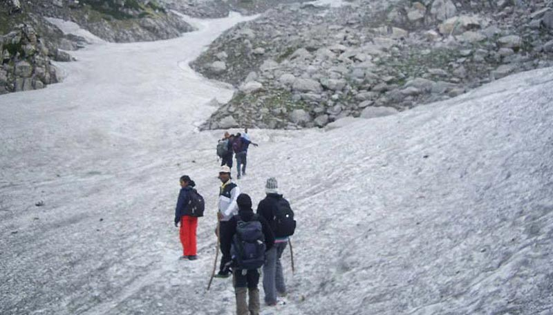 Manali Trek Over Thamsar Pass Tour
