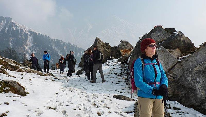 Trek To Inderahara From Mcleodganj Tour