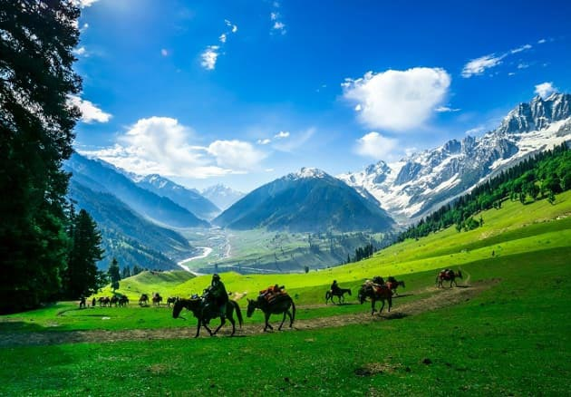Srinagar – Gulmarg – Pahalgam – Sonamarg 4Nights/5Days Package