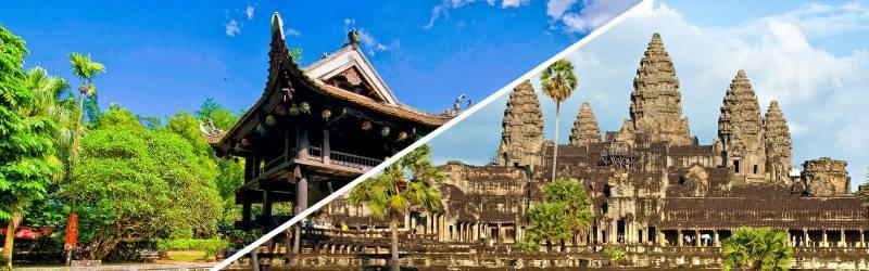 5-day Vietnam & Cambodia Tour from Saigon