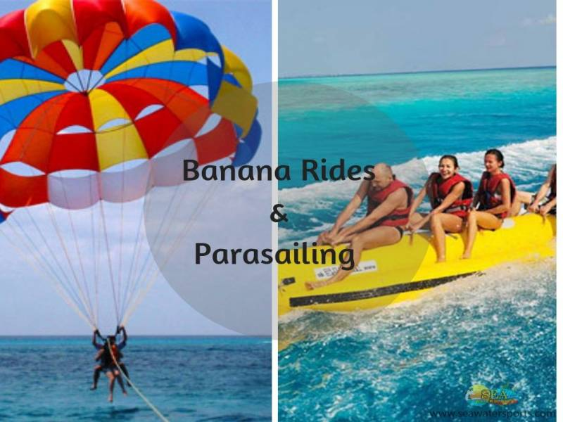 Water Sports Package At Calangute Beach (code: Tr Dly F)