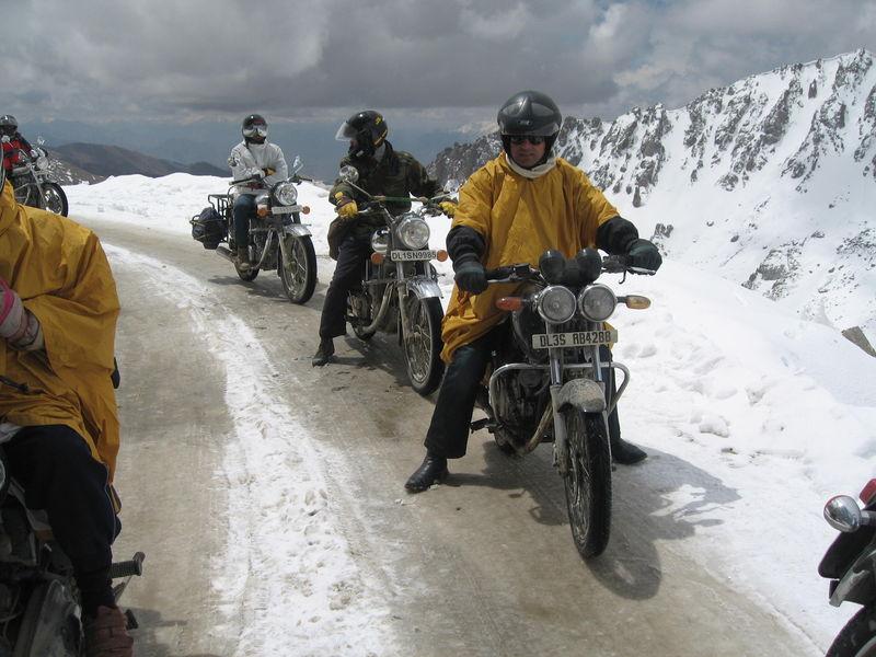 Ladakh Motor Bike Tour 2019 Ex. Leh (code: Tr Dly F)