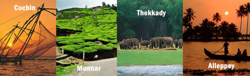 Glorious Kerala Holiday Package 05 Nights 06 Days