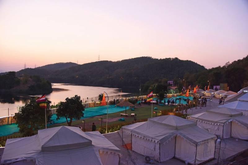 Tent City Narmada
