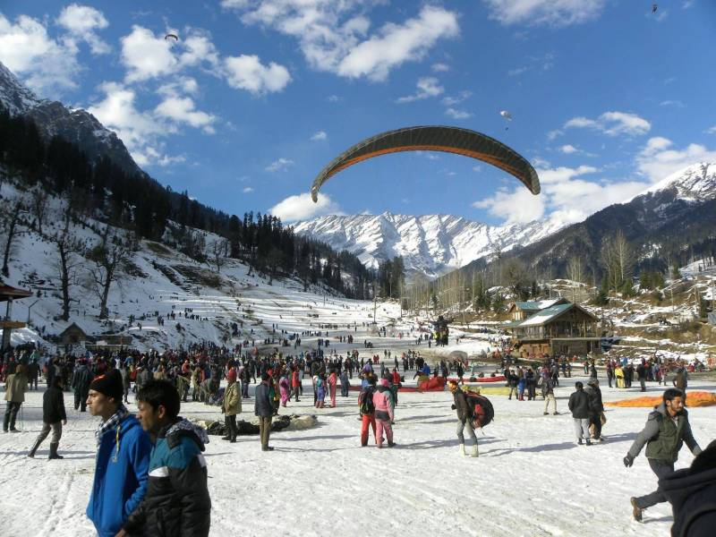 Manali 4N5D Tour Package by Volvo from Delhi