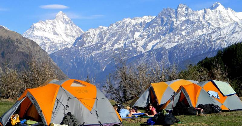 Camping Experience in Ladakh Tour