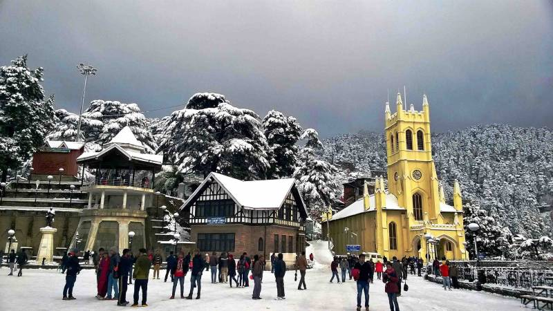 Shimla and Manli Package  Starting from 22,500