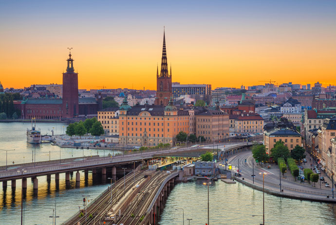 Sweden to Norway, Cruise Tour of Four Capitals Tour